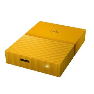 WD My Passport 2TB External Hard Drive / HDD - Yellow - (WDBYFT0020BYL)