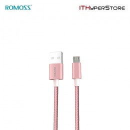 ROMOSS CABLE - LIGHTNING CB12N ROSE GOLD (CB12n-566-03)
