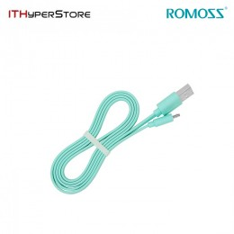 ROMOSS CABLE - LIGHTNING CB12F MINT GREEN