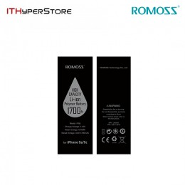 ROMOSS 1700mAh REPLACEMENT BATTERY FOR iPHONE 5S/5C