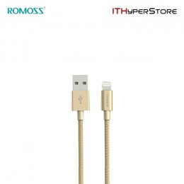 ROMOSS CABLE - MFI LIGHTNING GOLD