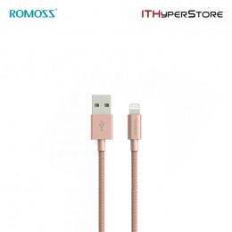 ROMOSS CABLE - MFI LIGHTNING ROSE GOLD
