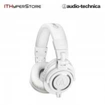 Audio Technica M-Series Remastered Headphone - ATH-M50X (White)