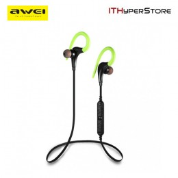 Awei A890BL Bluetooth 4.0 Sweat Proof Sport Stereo Earphone with Microphone