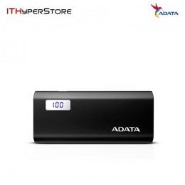 ADATA POWERBANK P12500D 12500MAH - BLACK