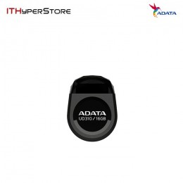 ADATA UFD USB2.0 UD310 16GB - DURABLE BLACK