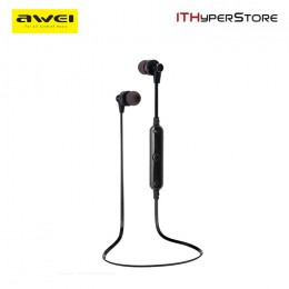 Awei A990BL Bluetooth 4.0 Sweat Proof Sport Stereo Earphone with Microphone
