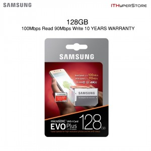 Samsung 128GB/64GB/32GB EVO Plus Class 10 Micro SDXC with Adapter Up to 80MB/s
