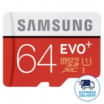 Samsung 32GB/64GB EVO Plus Class 10 Micro SDXC with Adapter Up to 80MB/s
