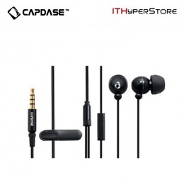 Capdase Handsfree Earphone Mono EP-35-M iPhone 4 & 3GS - Black
