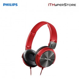 Philips Headphone DJ Monitor Style SHL3160RD/00 - Red
