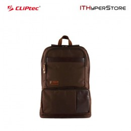 Cliptec 17 Notebook Backpack Cosmo - CFP106 (Brown)