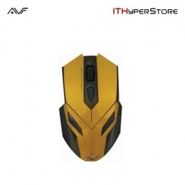 AVF AGM111 Gaming Optical Mouse (3000dpi) USB - Yellow