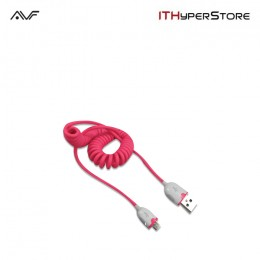 AVF SmartPhone Sync & Charge Cable - Pink (ASPSC03)
