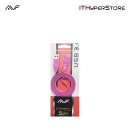 AVF S-Smartphone Micro 3.0 Sync & Charge Cable - Pink