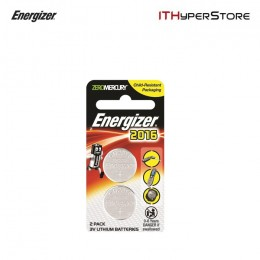 Energizer 2016 Lithium Coin Batteries 3V (2pcs) - CR2016BS2