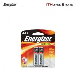 Energizer Alkaline Batteries AA 1.5V (2pcs) - E91 BP-2