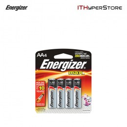 Energizer Alkaline Batteries AA 1.5V (4pcs) - E91 BP-4