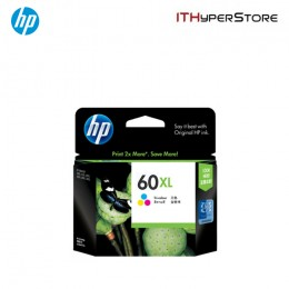 HP 60XL (Tri-Color) Ink Cartridge CC644WA