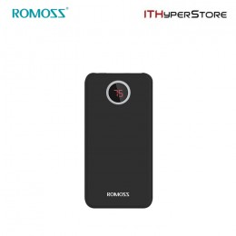 ROMOSS POWERBANK HO10 10000mAh LED - BLACK