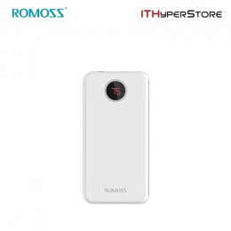 ROMOSS POWERBANK HO20 20000mAh LED - WHITE