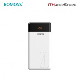 ROMOSS POWERBANK LT20 20000mAh - WHITE