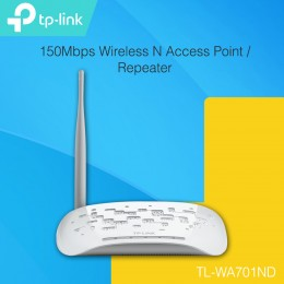 TP-LINK TL-WA701ND 150Mbps Wireless N Access Point / Repeater