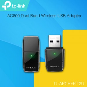 TP-LINK Archer T2U AC600 Dual Band Wireless USB Adapter