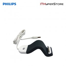 Philips iPhone & iPod Sync Charge Cable with Flex Adapt (Grey)