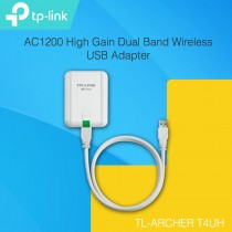 TP-LINK Archer T4UH AC1200 High Gain Dual Band Wireless USB Adapter