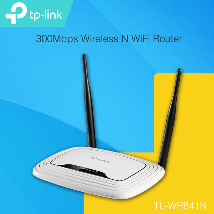 TP-LINK TL-WR841N 300Mbps Wireless N WiFi Router (UNIFI & MAXIS FIBRE)