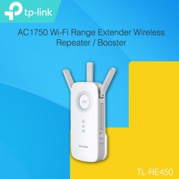 TP-LINK RE450 AC1750 Wi-Fi Range Extender Wireless Repeater / Booster