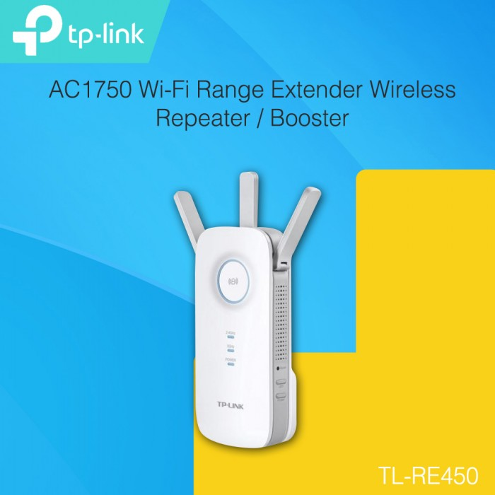 TP-LINK RE450 AC1750 Wi-Fi Range Extender Wireless Repeater