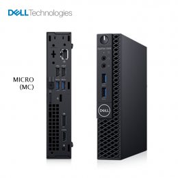 DELL OptiPlex 3060 Micro Desktop (i550/4G/1TB-W10)
