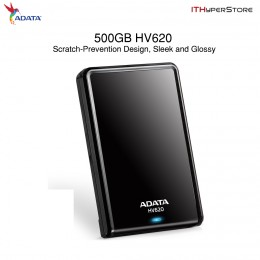 "Adata HV620 USB 3.0 500GB 2.5"" Portable External Hard Disk Drive"