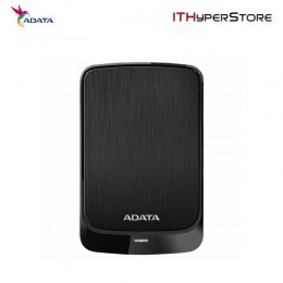 ADATA EXT HDD HV320 2TB BLACK (SLIMMER 10.7MM)