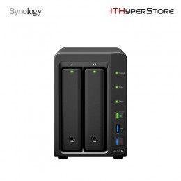 SYNOLOGY DS718+/ QC 1.5 GHz/ 2G DR3L / 2 BAY / 2 LAN Port / 2 USB 3