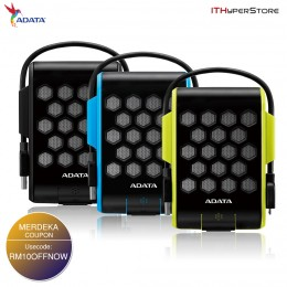 ADATA HD720 1TB Waterproof/Dustproof/Shock-proof External Hard Drive