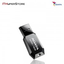 ADATA DashDrive UV100 Slim Bevelled USB Flash Drive 16GB (BLACK)