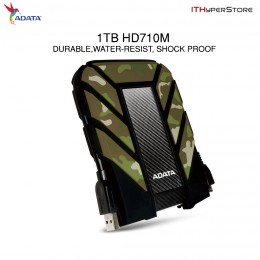 ADATA HD710M 1TB USB 3.0 External Hard Drive Waterproof / Dustproof / Shockproof