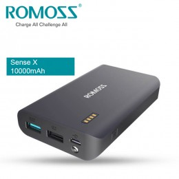 ROMOSS Sense X 10000mAh QC3.0 Power Bank Synchronous Charging & Discharge
