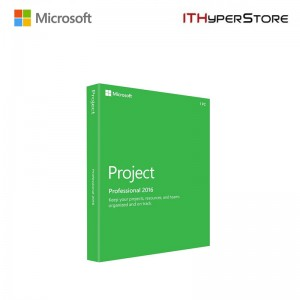 MS.PROJECT PRO 2016 32-BIT/X64 ENGLISH DVD