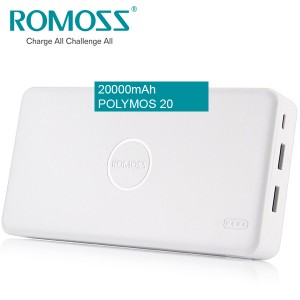 ROMOSS Power Bank Polymos 20 20000mAh Fast Charger Power Bank
