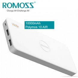 Romoss Polymos 10 Air PB10 10000mAh Li-Polymer Power Bank, Fast Charge, Dual Port