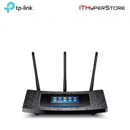 TP-LINK - Touch P5, AC1900 Touch Screen Wi-Fi Gigabit Wireless Router