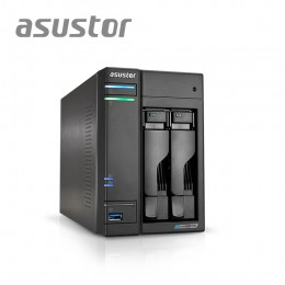 ASUSTOR AS6602T / QC 2.0 GHZ/ 4GB DDR4 /  2 BAY / 2 X 2.5G LAN PORT/ 3 USB 3