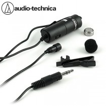 Audio Technica Condenser Lavalier Microphone for Smartphone ATR3350iS