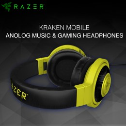 Razer Kraken Mobile-Mobile Analog Headset - Yellow (RZ04-01400200-R3M1)