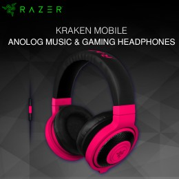 Razer Kraken Mobile-Mobile Analog Headset - Red (RZ04-01400300-R3M1)