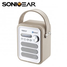 SonicGear Pandora Neo 500 Bluetooth Portable Speaker - Cream